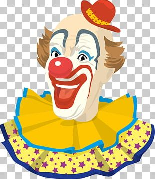 Pierrot Chuckles The Clown Circus PNG