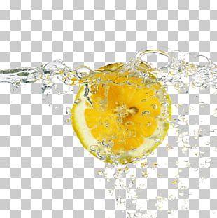 Lemon Juice Water Drinking PNG