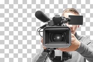 Stock Photography Camera Operator Professional Video Camera PNG