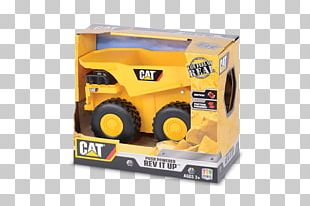 Caterpillar Inc. Model Car Dump Truck Toy PNG