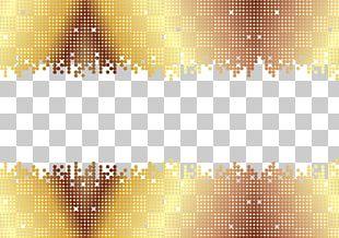Euclidean Gold Line PNG