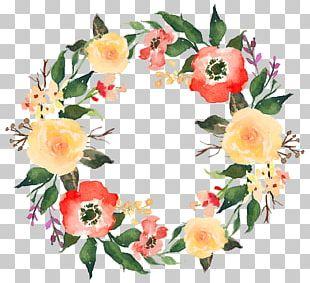 Garland Flower Wreath PNG