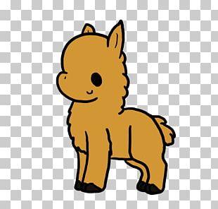 Llama Animation Cartoon Cuteness PNG