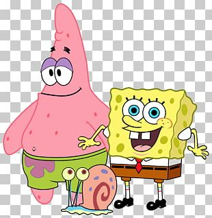 SpongeBob SquarePants Patrick Star Cartoon Euclidean PNG
