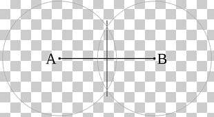 Circle Point Erdibitzaile Perpendicular Line Segment PNG
