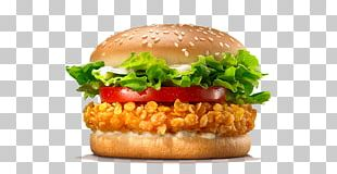 Chicken Sandwich Whopper Hamburger TenderCrisp Burger King Specialty Sandwiches PNG