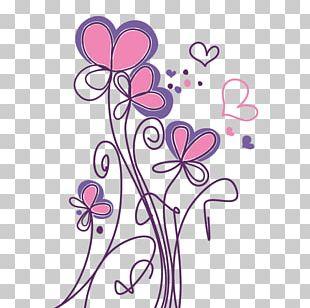 Flower Drawing Paper Description PNG