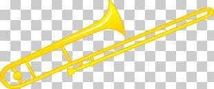 Trombone Musical Instrument Brass Instrument PNG