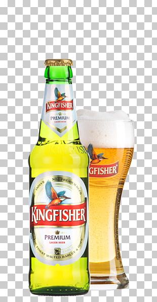 Lager Beer Cocktail Kingfisher Beer Bottle PNG