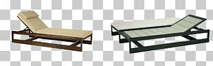 Chair Table Chaise Longue Sunlounger Garden Furniture PNG
