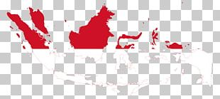 Flag Of Indonesia Brunei Map PNG
