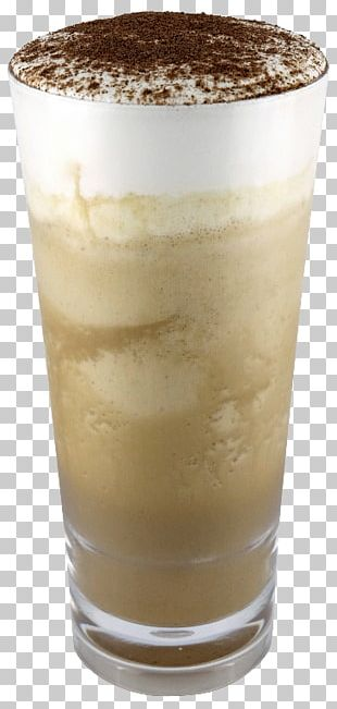 Frappé Coffee Milkshake Iced Coffee Food Horchata PNG