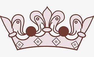 Lavender Crown PNG