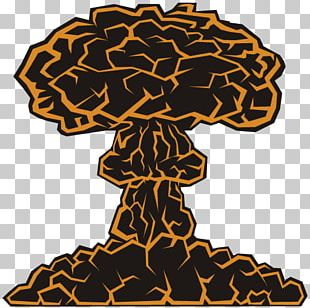 Mushroom Cloud Explosion Nuclear Weapon Atom Bombasi PNG