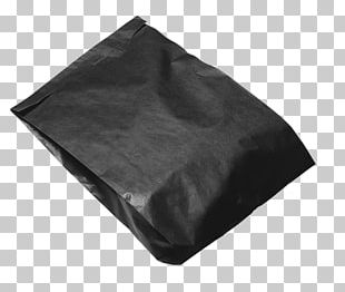 Black Packaging And Labeling Bag PNG