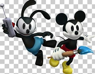 Epic Mickey 2: The Power Of Two Oswald The Lucky Rabbit Mickey Mouse Epic Mickey: Power Of Illusion PNG