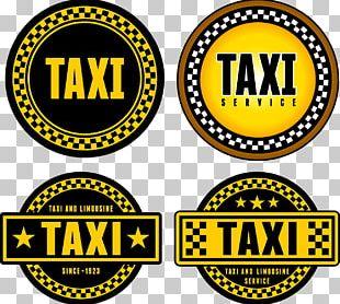 Taxi Yellow Cab Logo PNG