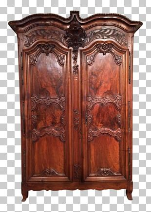 Cupboard Furniture Chiffonier Armoires & Wardrobes Wood Stain PNG