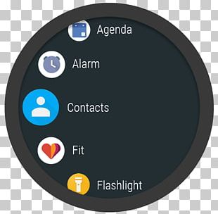 Wearable Computer Wear OS Smartwatch Mobile App Android PNG