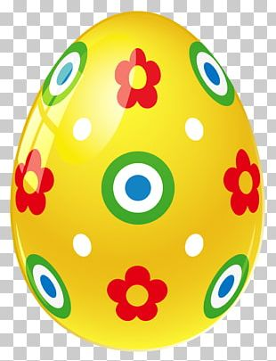 Easter Bunny Easter Egg Yellow PNG