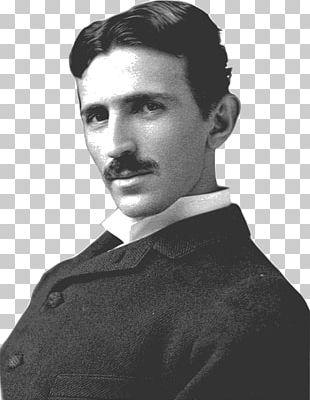 Nikola Tesla Side View PNG