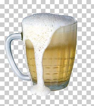 Beer Glassware Coffee Cup Mug Beer Bottle PNG
