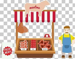 Euclidean Meat Cartoon PNG