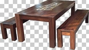 Table Furniture Petrified Wood Inlay PNG
