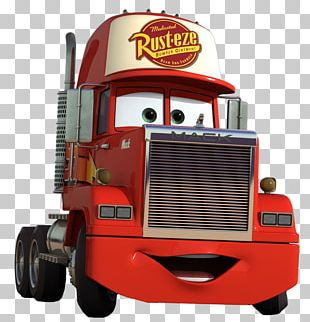 Lightning McQueen Mater Mack Trucks Car Mack R Series PNG