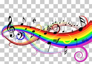 Musical Note Singing Choir Part PNG