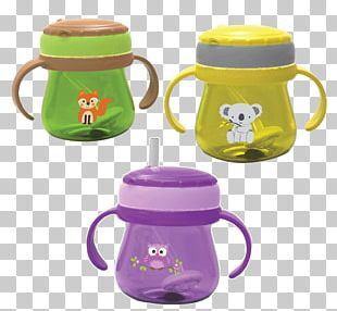 Sippy Cups Infant Baby Food Drinking Straw PNG