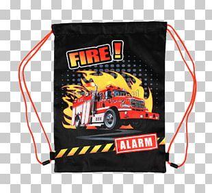 School Bag Firefighter Zipper PNG