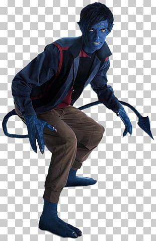 Nightcrawler Professor X Beast Mystique Cyclops PNG