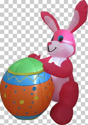 Easter Bunny Christmas Easter Egg Gemmy Industries PNG