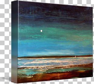 Landscape Painting Acrylic Paint Frames Oil Painting PNG