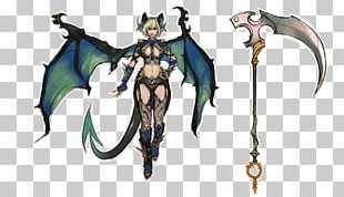 Demon Succubus Model Sheet Concept Art PNG
