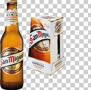 Lager San Miguel Beer Beer Bottle Mahou PNG