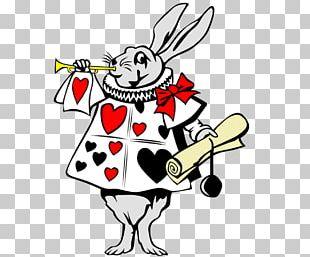 Alice's Adventures In Wonderland White Rabbit Cheshire Cat Mad Hatter PNG