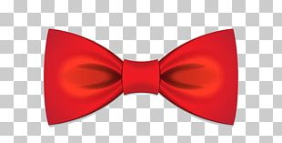 Bow Tie T-shirt Necktie Red Ribbon PNG