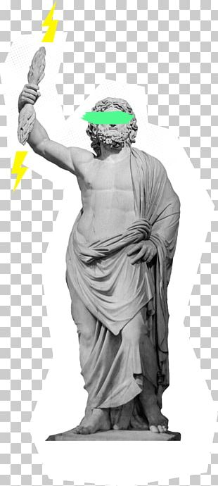 Statue Of Zeus At Olympia Ancient Greece Greek Mythology PNG