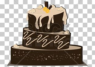 Birthday Cake Chocolate Cake Sugar Cake Sachertorte Layer Cake PNG