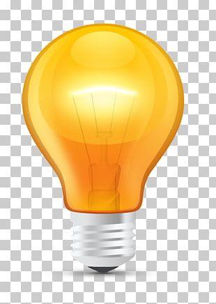 Incandescent Light Bulb LED Lamp Lighting PNG