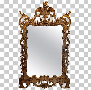 Mirror Rococo Frames Ornament PNG