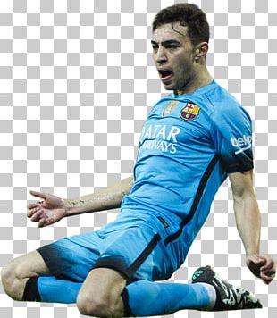 Munir El Haddadi FC Barcelona Football Jersey Soccer Player PNG