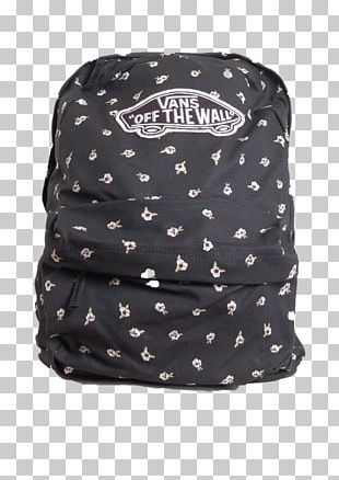 Bag Backpack Vans Black M PNG