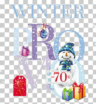 Christmas Poster Advertising Sales Promotion PNG