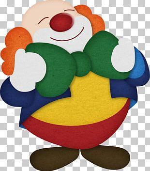 Cartoon Clown Illustration PNG