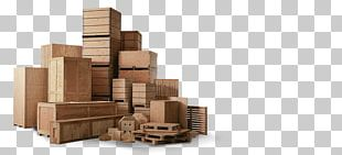 Paper Wood Crate Packaging And Labeling PNG