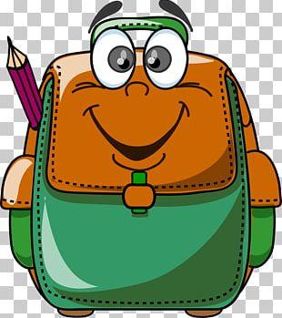 School Cartoon PNG