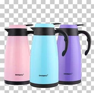 Water Bottle Vacuum Flask Kettle Mug PNG